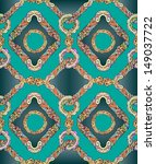 seamless pattern. abstract hand ... | Shutterstock .eps vector #149037722
