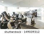 an interior shot of a club gym... | Shutterstock . vector #149039312