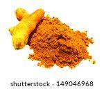 turmeric powder | Shutterstock . vector #149046968