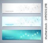 banner design template. concept ... | Shutterstock .eps vector #1490531198