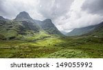 View Of Glencoe  Scotland