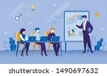 education courses for office... | Shutterstock .eps vector #1490697632