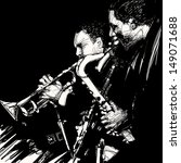 vector illustration of jazz... | Shutterstock .eps vector #149071688