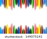 A Stack Of Colorful Crayons On...