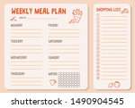 Weekly Meal Plan. Meal Plan Fo...