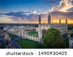 Aerial Scenery Of Cambridge...