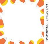 Vector Frame  Card Template...