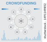 crowdfunding infographic with...