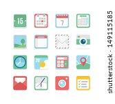useful icon set   Shutterstock .eps vector #149115185