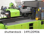 injection moulding machine for... | Shutterstock . vector #149120906