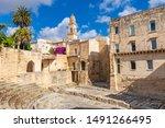 Italy, Apulia, Province of Lecce, Lecce. Bell tower, Duomo dell
