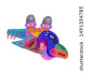 vector illustration abstract...   Shutterstock .eps vector #1491354785