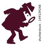 detective | Shutterstock .eps vector #149139248