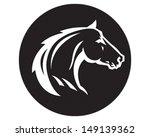 Stock vector wild horse 149139362