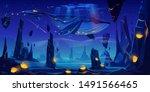 fantasy dream  space fairy tale ... | Shutterstock .eps vector #1491566465