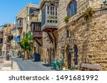 This Street In Old Jaffa Was...