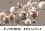 beautiful abstract background... | Shutterstock . vector #1491724475