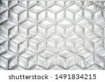 Fabric Quilted Glossy Silver....