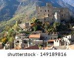 castelvecchio di rocca barbena. ... | Shutterstock . vector #149189816