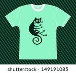 t shirt_cat | Shutterstock .eps vector #149191085