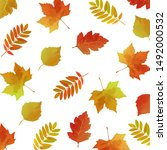 Autumn Leaves Pattern For...