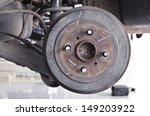 drum brakes.   Shutterstock . vector #149203922