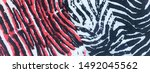 wild life animal pattern.... | Shutterstock . vector #1492045562