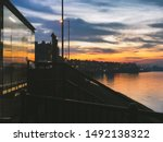Sunset Over Western Harbour An...
