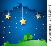 countryside  fantasy... | Shutterstock .eps vector #149215445
