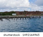 Fort Jefferson at the Dry Tortugas National Park is one of the top attractions in Florida.