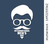 international men day or father ...   Shutterstock .eps vector #1492255562