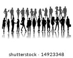 illustration of people | Shutterstock .eps vector #14923348
