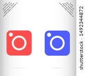 camera vector eps 10 icon  ...