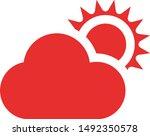 cloud weather icon logo symbol
