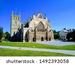 Exeter Cathedral In The Summer...