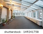 Empty Conservatory With Small...
