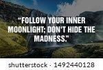 Follow Your Inner Moonlight ...