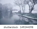 river nied near hemmersdorf ... | Shutterstock . vector #149244398
