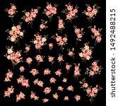 vector illustration material of ... | Shutterstock .eps vector #1492488215