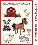 children educational game. what ...   Shutterstock .eps vector #1492502135
