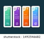 vector infographic label design ...   Shutterstock .eps vector #1492546682