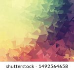 vector background from polygons ... | Shutterstock .eps vector #1492564658