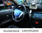 Self driving car with hud...