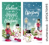 christmas headers or banners... | Shutterstock .eps vector #1492670495