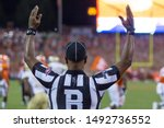 Referee Touchdown Signal  ...