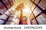 Forklift Loader In Storage...