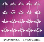 Decorative Numbers For Party....