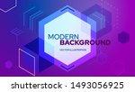 abstract vector background....   Shutterstock .eps vector #1493056925