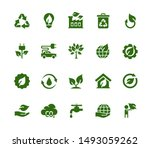 vector ecology and industry... | Shutterstock .eps vector #1493059262