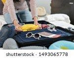Preparing Suitcase For Summer...